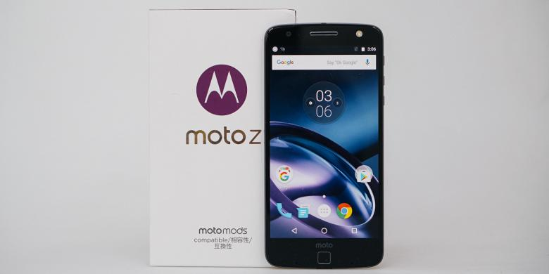 Melihat Lebih Dekat Moto Z, Smartphone Tertipis Di Dunia