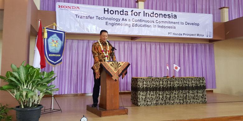 2042047honda780x390 » Honda Rangkul SMK, Siapkan Tenaga Kerja Siap Pakai