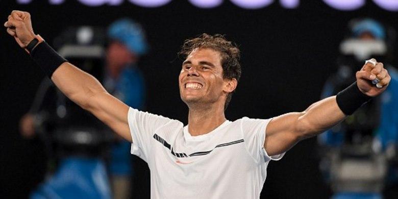 Bertanding Lima Jam, Nadal Ke Final Hadapi Federer