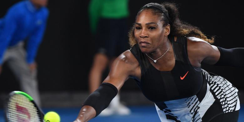 Kalahkan Sang Kakak, Serena Williams Juara Australia Terbuka 2017