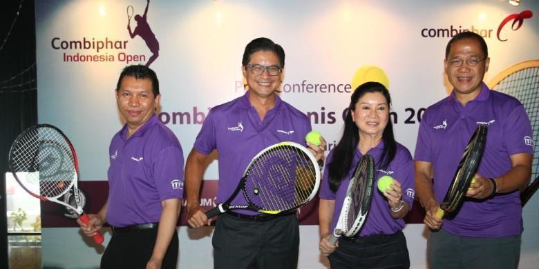 Combiphar Tennis Open Kini Berhadiah 45.000 Dollar AS