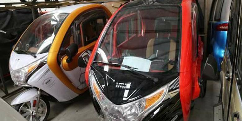 Modus Baru Penjual Motor Roda Tiga Mewah