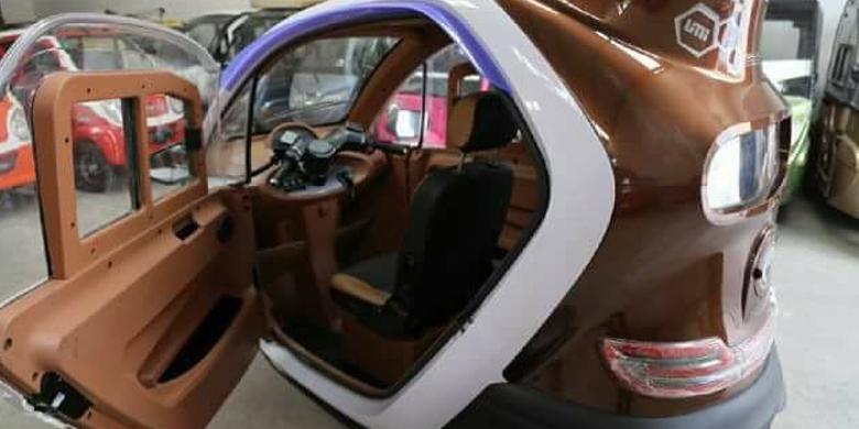 Mewahnya Spesifikasi dan Fitur Motor Roda Tiga Ini