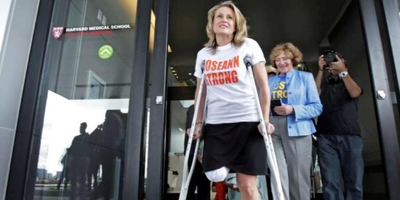 Kisah Cinta Perempuan Korban Bom Maraton Boston