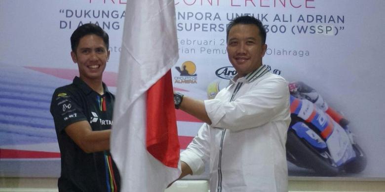 Menpora Dukung Ali Adrian Ikut World Supersport 300