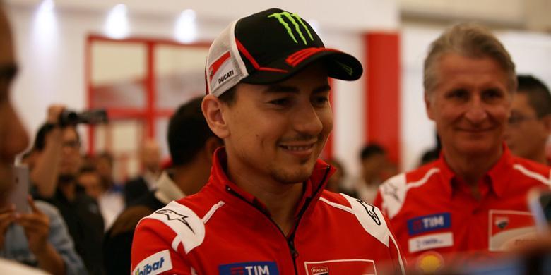Lorenzo Curhat Soal MotoGP Bersama Komunitas Ducati