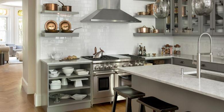 Begini Tata Letak Dapur yang Efisien  Kompas.com