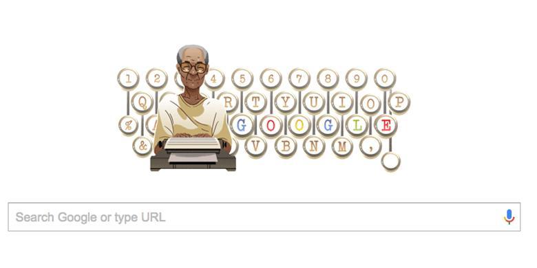 0222383Doodle Pram780x390 » Mengapa Pramoedya Ananta Toer Jadi Google Doodle Hari Ini?