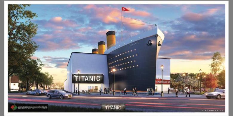 Museum Interaktif Titanic Akan Dibuka Di Kanada