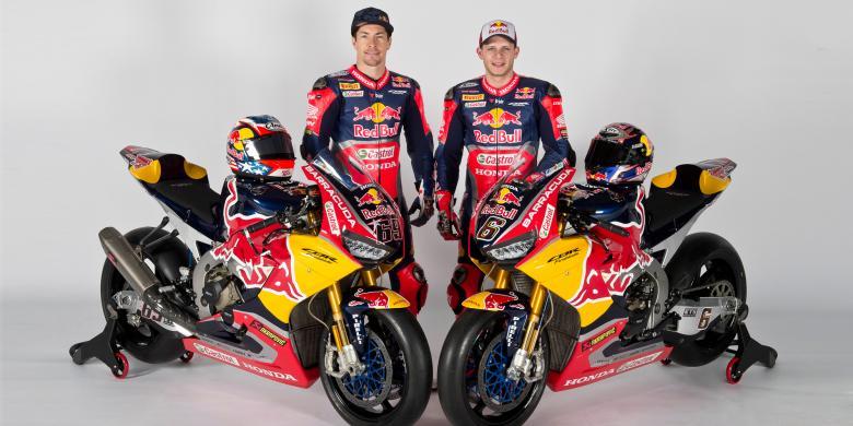 Nicky Hayden Dan Stefan Bradl Luncurkan Motor Mereka Di Superbike