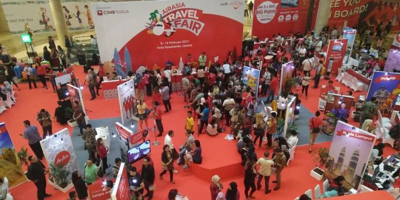Diskon Hingga 50 Persen, Saatnya Berburu Tiket Di AirAsia Travel Fair