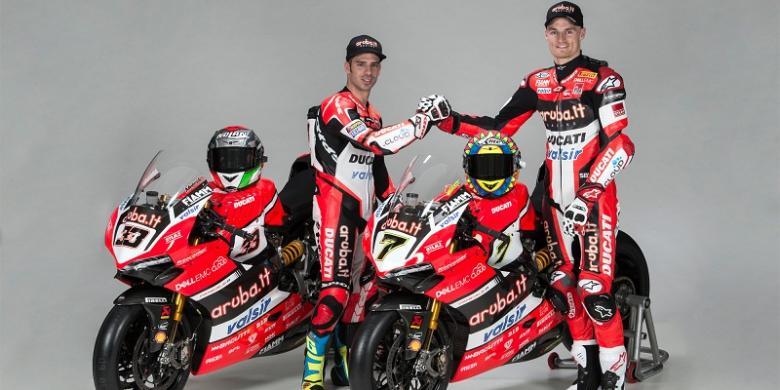Ducati Luncurkan Motor Untuk World Superbike 2017