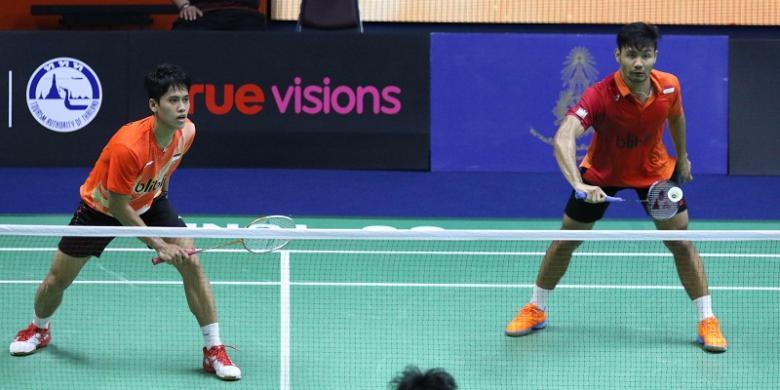 Berry/Hardianto Gagal Melangkah Ke Final Thailand Masters