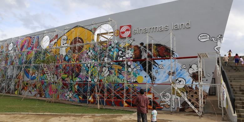 Ahok akan resmikan rptra rth kalijodo pekan depan for Mural kalijodo