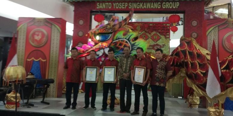 Naga 178 Meter Di Singkawang Raih Rekor Muri