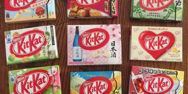 Kiat Menemukan Kit Kat Rasa Langka Di Jepang