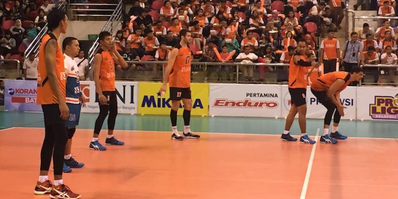 Tim Putra Jakarta BNI Raih Kemenangan Pertama