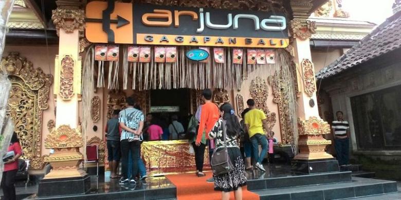 Arjuna Gagapan Bali, Tempat Belanja Pengemudi Rombongan Raja Salman