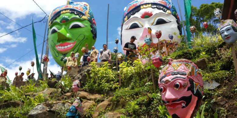 Desaku Menanti Jadi Kampung Wisata Topeng Di Malang