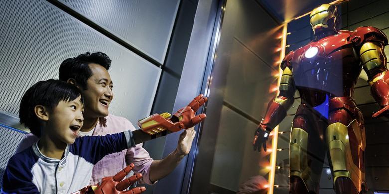 Wahana Iron Man Hadir Di Hongkong Disneyland