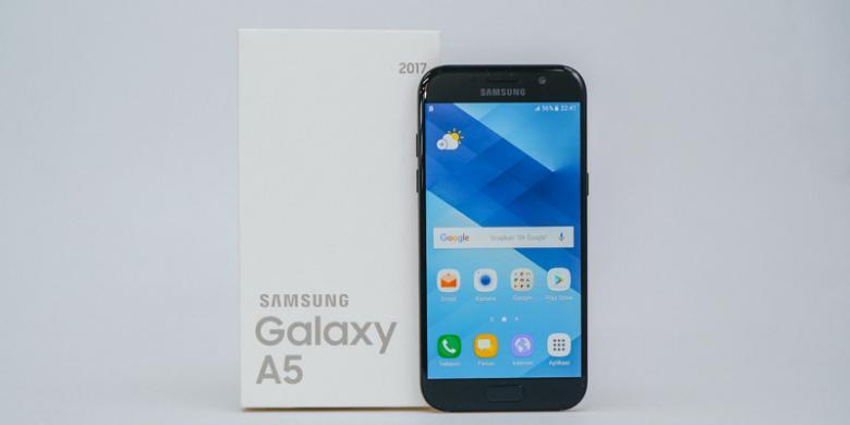 Membuka Kotak Kemasan Galaxy A5 2017