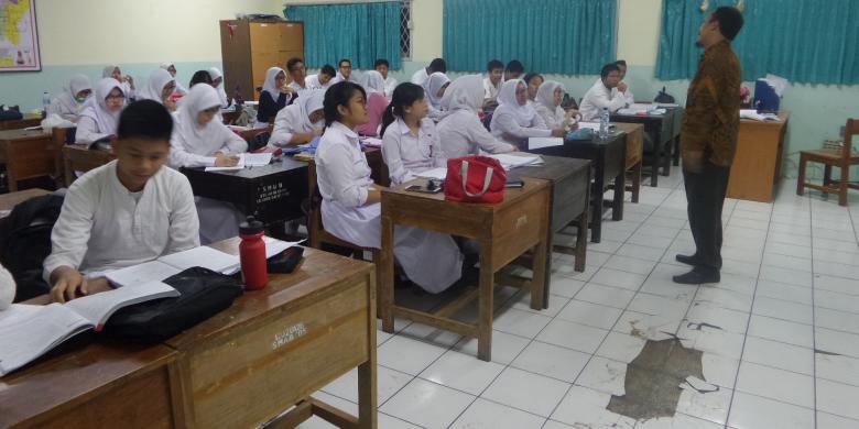 Aktivitas Belajar Di Sma 8 Jakarta Sudah Kembali Normal