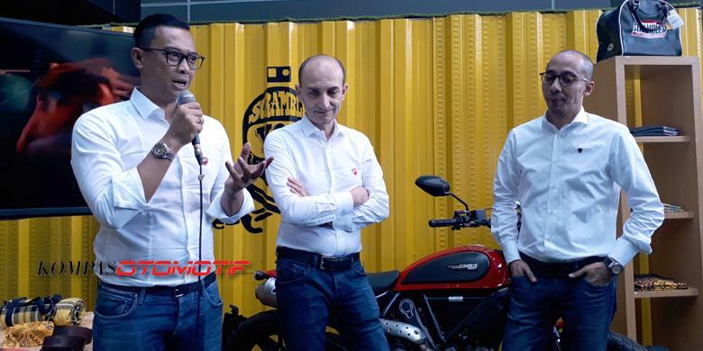 "Ditengok Prinsipal, Ducati Indonesia Semakin ""Pede"""