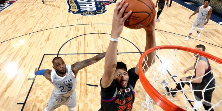 Anthony Davis Raih MVP NBA All-Star Game
