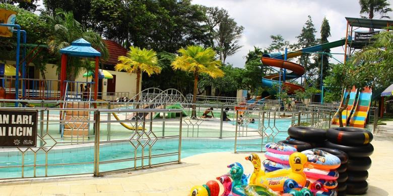 Segarnya Bandar Eco Park, Kolam Renang Peninggalan Kolonial