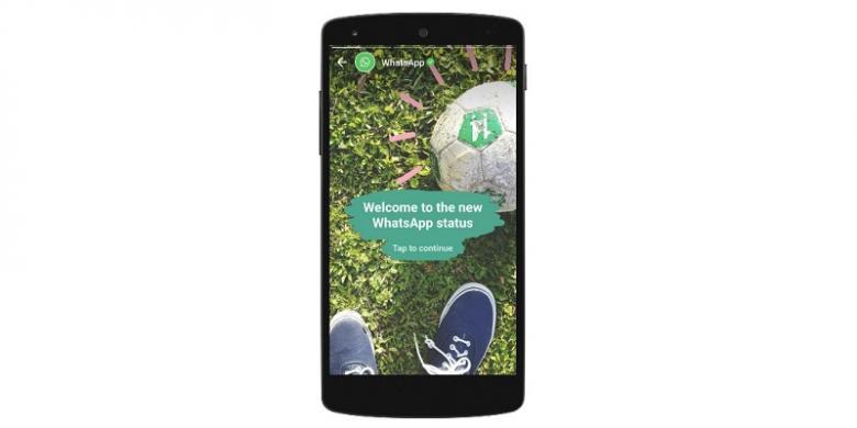 Status Foto Dan Video WhatsApp Sudah Bisa Dipakai Di Indonesia