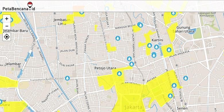 Begini Cara Melaporkan Dan Memantau Banjir Di Situs PetaBencana.id