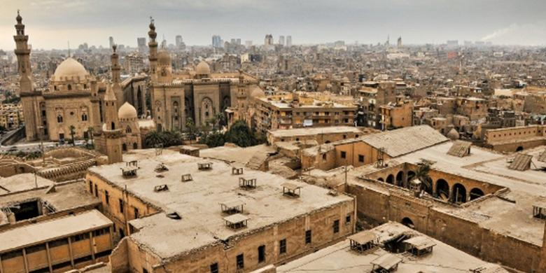Kairo, Ibukota Mesir.