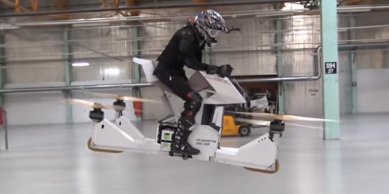 Sepeda Motor Terbang Dari Rusia (Video)
