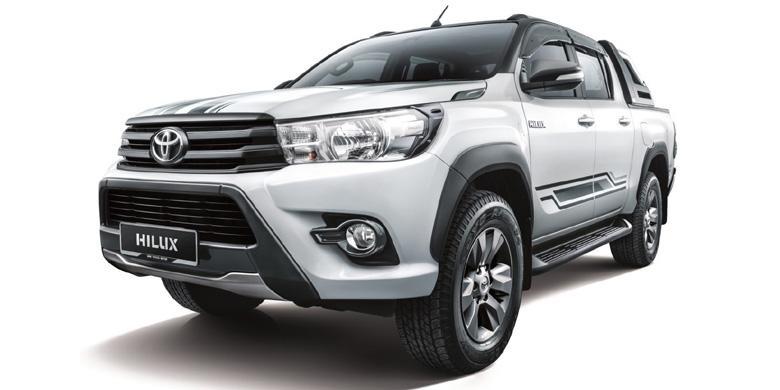 Tengok Toyota Hilux Edisi Spesial Dari Negeri Jiran