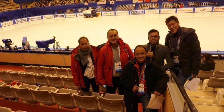 KOI Dukung Olahraga Es Di Indonesia