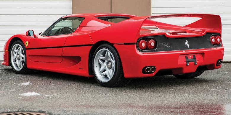 Ferrari F50 Mike Tyson Cari Lawan Baru