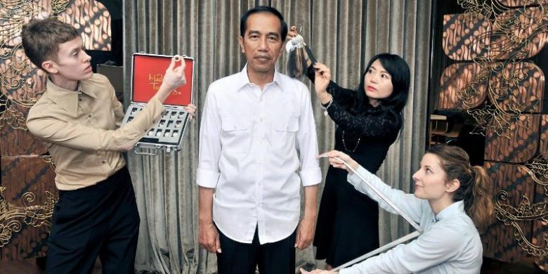 Patung Jokowi Di Madame Tussauds Hongkong Diluncurkan Tahun Ini