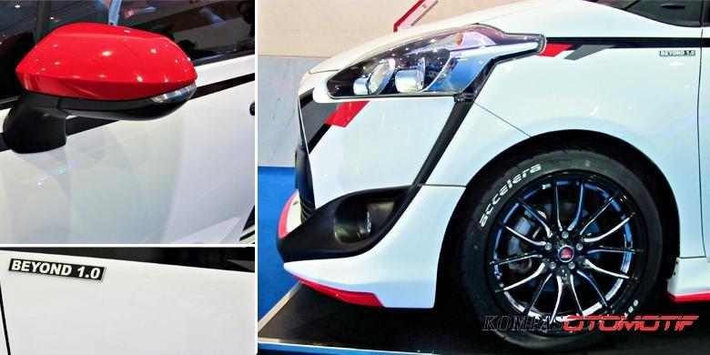 Inspirasi Modifikasi Ringan Toyota Sienta Hasil Kolaborasi