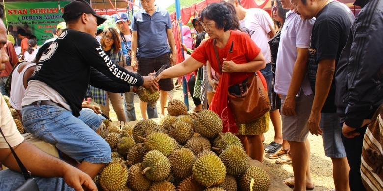 """""""Semarang Festival Durian 2017"""" Nan Semarak"""