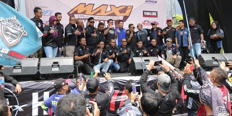 Skuter skuter Bongsor Yamaha Riuhkan Bandung