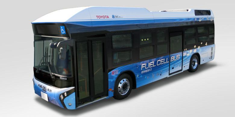 Bus Hidrogen Pertama Toyota Beroperasi Di Jepang