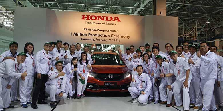 Selebrasi 1 Juta Unit Honda Indonesia