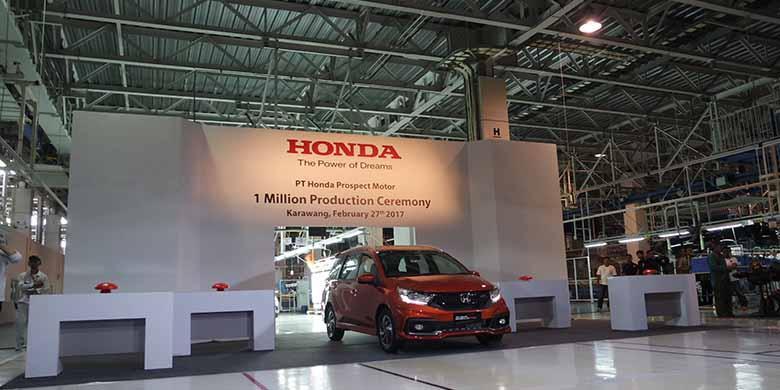 Pabrik Honda Prospect Motor rayakan produksi 1 juta unit