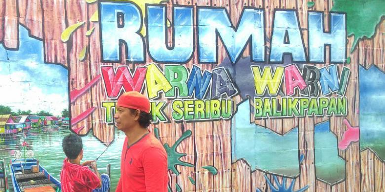 Kampung Warna Warni Teluk Seribu, Obyek Wisata Baru Di Balikpapan