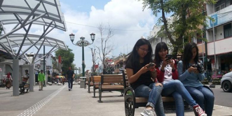 Inilah 13 Titik Wi-Fi Gratis Di Sepanjang Malioboro