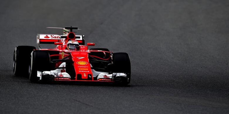 Raikkonen Ungguli Hamilton Pada Hari Kedua Tes