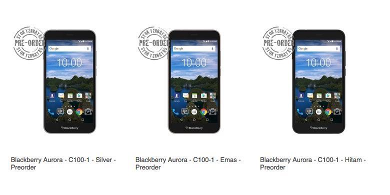 Belum Dirilis, Smartphone BlackBerry Khusus Indonesia Sudah Dijual Online