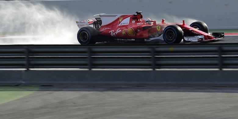 Kimi Raikkonen Paling Cepat Pada Hari Terakhir Tes Pramusim Pertama