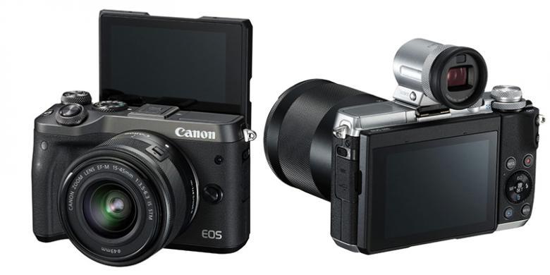 mirrorless canon eos m6 dijual rp 12 5 juta di indonesia