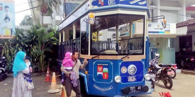 Warga Bogor Penasaran, Kapan Bus Wisata Uncal Beroperasi